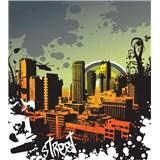 Vliesové fototapety mesto rozmer 225 cm x 250 cm