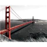 Vliesové fototapety most San Francisco, rozmer 312 x 219 cm