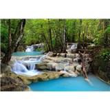 Vliesové fototapety vodopády rozmer 375 cm x 250 cm
