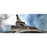 Vliesové fototapety Eiffelova veža v Paríži, rozmer 250 x 104 cm
