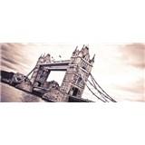 Vliesové fototapety Tower Bridge, rozmer 250 x 104 cm