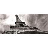 Vliesové fototapety Eiffelova veža, rozmer 250 x 104 cm