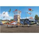 Fototapety Disney Lietadlá terminál rozmer 368 cm x 254 cm