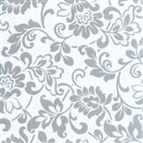 Samolepiace tapety - barokové kvety, metráž, šírka 67,5 cm, návin 15m,