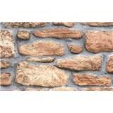 Samolepiace tapety - kamenná stena, metráž, šírka 67,5 cm, návin 15m,