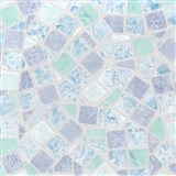 Samolepiace tapety mozaika modrá - 45 cm x 15 m