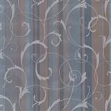 Samolepiace tapety ornamenty s pruhmi - modré 90 cm x 15 m