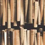 Samolepiace fólie knihy hnedé - 45 cm x 15 m