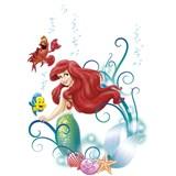 Samolepky na stenu Disney Malá morská víla Ariel rozmer 50 cm x 70 cm