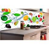 Samolepiace tapety za kuchynskú linku ovocie rozmer 180 cm x 60 cm