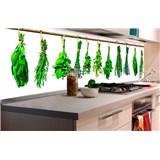 Samolepiace tapety za kuchynskú linku bylinky rozmer 180 cm x 60 cm