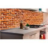 Samolepiace tapety za kuchynskú linku staré tehly rozmer 180 cm x 60 cm