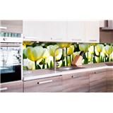 Samolepiace tapety za kuchynskú linku tulipány rozmer 260 cm x 60 cm