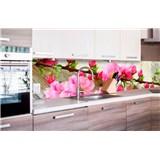 Samolepiace tapety za kuchynskú linku sakura rozmer 260 cm x 60 cm