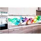 Samolepiace tapety za kuchynskú linku dym farebný rozmer 260 cm x 60 cm
