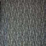Luxusné vliesové tapety na stenu LACANTARA vlnovky strieborné na čiernom podklade