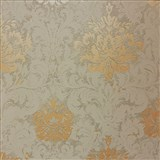 Tapety na stenu La Veneziana 3 zámocký vzor damašek hnedý