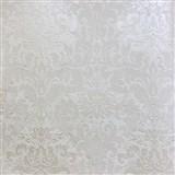 Tapety na stenu La Veneziana zámocký vzor damašek biely