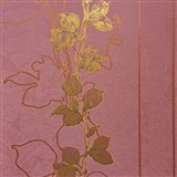 Tapety na stenu La Veneziana 3 stonky listov na vínovom podklade