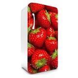 Samolepiace tapety na chladničku jahody rozmer 120 cm x 65 cm