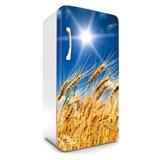 Samolepiace tapety na chladničku pšeničné polia rozmer 120 cm x 65 cm