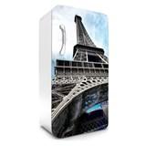 Samolepiace tapety na chladničku Eiffelova veža rozmer 120 cm x 65 cm