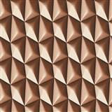Vliesové tapety na stenu Harmony in Motion by Mac Stopa 3D hnedý