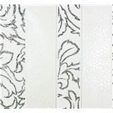 Vliesové tapety na stenu Messina pruhy - bielo-čierne