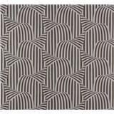 Vliesové tapety NENA vzor strieborno-hnedý