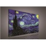 Obraz na stenu Vincent van Gogh Hviezdna noc 75 x 100 cm