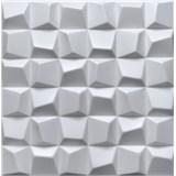 3D panel XPS SQUARED biely rozmer 50 x 50 cm