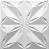3D panel XPS STAR biely rozmer 50 x 50 cm
