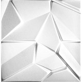3D panel XPS MERKUR biely rozmer 50 x 50 cm