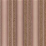 Luxusné vliesové tapety na stenu Spotlight 2 pruhy štruktúrované hnedo-zlaté