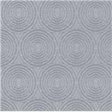 Vliesové tapety IMPOL Timeless kruhy sivé