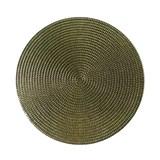 Vinylové dekoratívne prestieranie na stôl Ambiente zlaté 38 cm