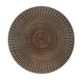 Vinylové dekoratívne prestieranie na stôl Deco bronzové 41 cm