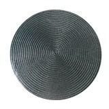 Vinylové dekoratívne prestieranie na stôl Deco strieborné 41 cm