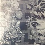 Obrusy návin 50 m x 140 cm transparentné kvety matné