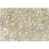 Fototapety prírodná kamenná stena rozmer 368 x 254 cm