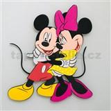 3D Penová dekorácia na stenu Miki a Minnie