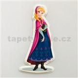 3D Penová dekorácia na stenu Frozen Anna
