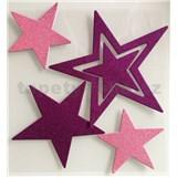 3D samolepky na stenu detské hviezdy