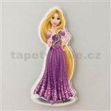3D dekorácie na stenu princezná Rapunzel