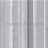 Vliesové tapety na stenu 4ever - pruhy svetlo šedé