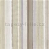Vliesové tapety na stenu 4ever - pruhy hnedo-šedé