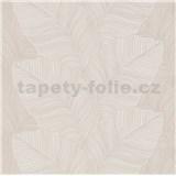 Vliesové tapety na stenu Bali listy hnedé