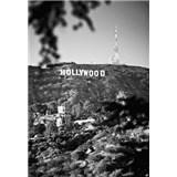 Luxusné vliesové fototapety Los Angeles - čiernobiele, rozmer 186 x 270cm