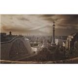 Luxusné vliesové fototapety Barcelona - sépia, rozmer 418,5 x 270cm