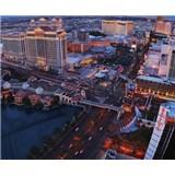 Luxusné vliesové fototapety Las Vegas - farebné, rozmer 325,5 x 270cm